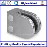 Morsetto di vetro dell'acciaio inossidabile per il corrimano dell'inferriata della scala della balaustra