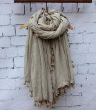 Mode, soie, coton, laine, lin, ressort, automne, écharpe
