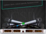 Система микрофона UHF Multi профессионала канала беспроволочная
