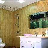 壁のための25cmの幅デザインラミネーションPVCパネルおよびホーム装飾が付いている天井