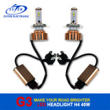 Alto Bright Car H4 LED Headlight Bulbs con el CREE LED Source