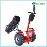 """Carros de golfe elétricos rápidos, """"trotinette"""" ao ar livre de equilíbrio da mobilidade do carro de golfe do Chariot elétrico"""