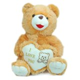 Brown Sitting Teddy Bear avec New Soft Material Merry Christmas Toys