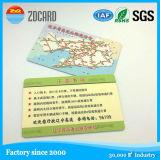 Smart card do plástico do sistema de cartão chave 1k do hotel do cartão do PVC da impressão RFID