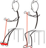 フィートおよび手のための簡単なホーム練習のペダルエクササイザー