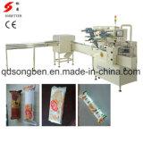 Machine alimentante semi automatique branchant à la machine de conditionnement