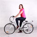Bicicleta elétrica de dobramento para senhoras