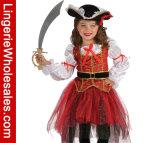 Les gosses que Rubie nous a laissés feignent la princesse du costume de mers