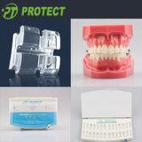 RothかMbtまたはEdgewise (21011/21013)のための歯科矯正学のSapphire Ceramic Bracket