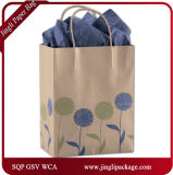 Tout un guindineau de clients d'oscillation quotidien tout le cadeau de temps en temps met en sac des sacs à provisions avec le traitement Twisted