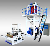 HDPE / LDPE doble Winder plástico Máquina de película soplada