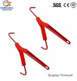 Type modifiant peint rouge cahier de levier d'acier du carbone mini de chargement