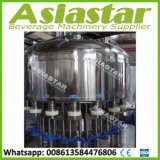 5000bph Automatic 3-in-1 Bottled Pulp Jucie Liquid Filling Machine