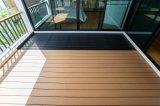 Assoalho plástico de madeira do Decking de acordo com padrões europeus