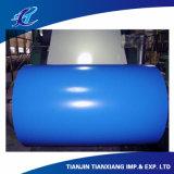 Gewölbte beschichteter Stahlring des Dach-Blatt-PPGI Farbe