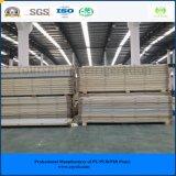 El panel modular de la azotea del emparedado del poliuretano de la conservación en cámara frigorífica 120m m de la asamblea