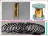 Провод вольфрама высокой очищенности изготовления покрынный золотом