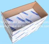 Bremsbelag-Asbest frei (WVA: 19581 BFMC: MB/76/77/1) für europäischen LKW