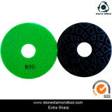 4 인치 5mm Thickness Terrazzo Floor Polishing Pads