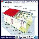 Edificio de acero prefabricado rápido industrial de la construcción