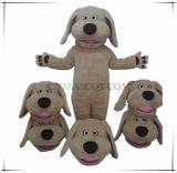 Prezzo all'ingrosso del cane del costume divertente della mascotte