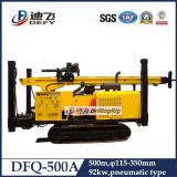 het Water van de Hamer van 500m dfq-500A DTH droeg goed de Prijzen van de Machine van de Boring voor Verkoop met de Compressor van de Lucht