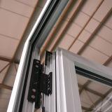 Guichet en aluminium de tissu pour rideaux avec le traitement de rouleau, guichet K03010 de tissu pour rideaux