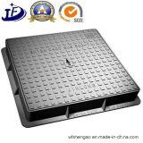 Hierro dúctil metal del molde de fundición en arena Tapas de registro según los requisitos