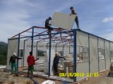 House prefabbricato con Light Steel Frame e Panel