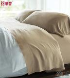 연약하고 편리한 대나무 비스코스 침대 시트 세트