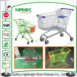 L'Australia Style Steel Shopping Trolley Cart per Supermarket