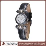 Het uitstekende Horloge van de Legering van het Horloge van de Stijl met Band Learther