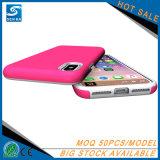 La Choquer-Absorption hybride raboteuse de couverture de butoir ultra mince duelle de couche et Anti-Rayent protecteur pour l'iPhone 8