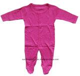 La ropa recién nacida 100% del bebé del algodón hizo punto la tela