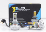 Fanless CREE 30W 3000lm Auto LED Car Headlight