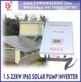 Solarpumpen-Inverter 3.7kw mit Wechselstrom gab für Bewässerung-Pumpen ein