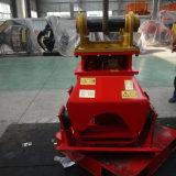 A máquina escavadora hidráulica vibra o compressor da placa do acessório da consolidação