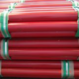 ULの証明書が付いているASTM A795の赤い塗られた鋼管