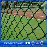 Rete fissa rivestita di collegamento Chain della rete metallica di obbligazione del PVC con il prezzo di fabbrica