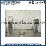 Probador impermeable del tubo de la oscilación de la lluvia del probador Ipx3/Ipx4 del IPX IEC60529