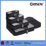 Кубики упаковки на перемещение устроители багажа 4 частей установленные с мешком ботинка