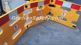 Barreira Foldable barreira Extensible plástica aglomerada da barreira do controle