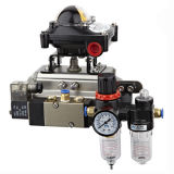 a Series Rack e a Pinion Type Pneumatic Actuator