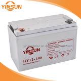 batterie 12V d'acide de plomb scellée par 100ah pour les systèmes domestiques solaires