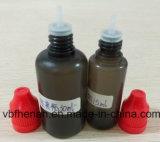 Die meiste populäre schwarze E-Flüssigkeit füllt 15ml 10ml schlanke Spitze und bunte Schutzkappen in China ab