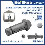 Expansion Bolt and Anchor Sleeve for Steelwork