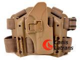 Taktischer Pistolenhalfter G17 Riflescope Pistolenhalfter-Gebrauch für Airsoft Handgewehr
