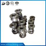 OEM 알루미늄 또는 청동 형 금속 주물 모래 무쇠 던지기 벨브 부속