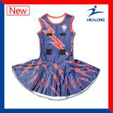 La mejor falda completada sublimada del Netball de Healong