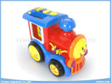 Spielwaren Train Insert Card Learning Machine Toys mit Study, Test, Music, Repeat Function